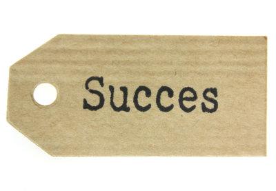Kraft label succes